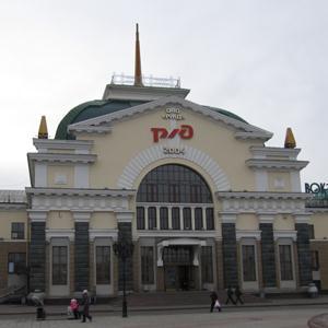 Железнодорожные вокзалы Усть-Тарки